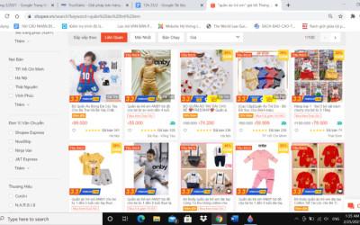 Bán sỉ quần áo trẻ em online làm thế nào ra nhiều đơn