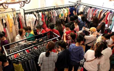 Quần áo giá rẻ - dưới 40k từ Bắc vào Nam