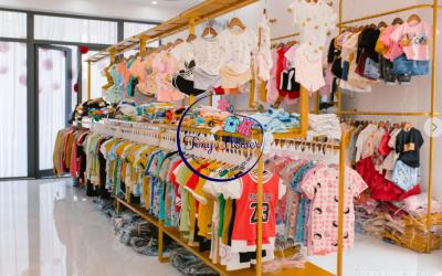 Mở cửa hàng bán sỉ quần áo trẻ em- những điều cần lưu ý